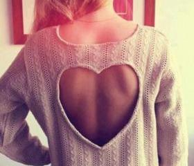 Heart shaped Knitwear